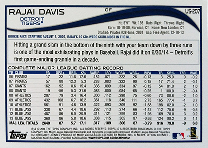 2014 Topps Update Series Baseball Variation Short Prints Guide 123