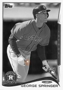 2014 Topps Baseball Sparkle Variation Spotter 123