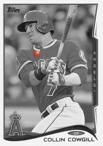 2014 Topps Baseball Sparkle Variation Spotter 132
