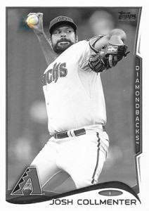 2014 Topps Update Series Sparkle HL US 107 Josh Collmenter 212x300 Image