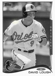 2014 Topps Update Series Sparkle HL US 109 David Lough 216x300 Image
