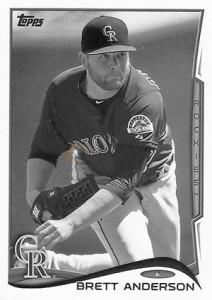 2014 Topps Baseball Sparkle Variation Spotter 137