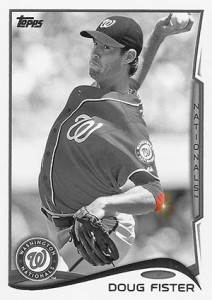 2014 Topps Update Series Sparkle HL US 137 Doug Fister 212x300 Image