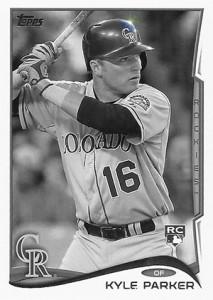 2014 Topps Baseball Sparkle Variation Spotter 143