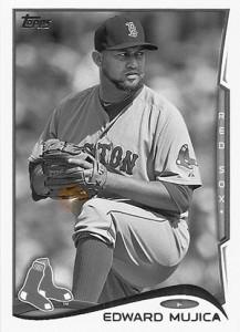 2014 Topps Baseball Sparkle Variation Spotter 145