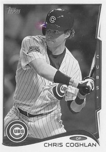 2014 Topps Update Series Sparkle HL US 226 Chris Coghlan 210x300 Image