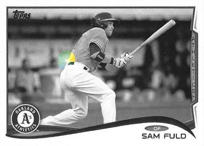 2014 Topps Baseball Sparkle Variation Spotter 154