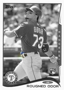 2014 Topps Update Series Sparkle HL US 276 Rougned Odor 212x300 Image