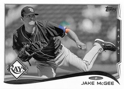 2014 Topps Baseball Sparkle Variation Spotter 167