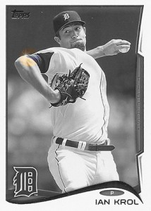2014 Topps Baseball Sparkle Variation Spotter 169