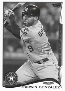 2014 Topps Baseball Sparkle Variation Spotter 170