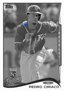 2014 Topps Baseball Sparkle Variation Spotter 126