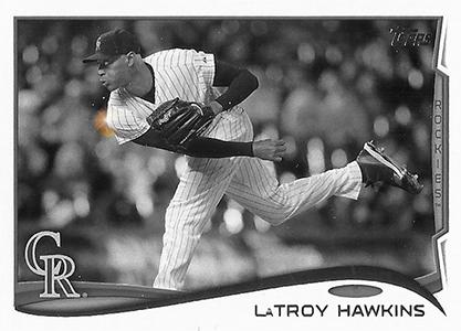 2014 Topps Baseball Sparkle Variation Spotter 129