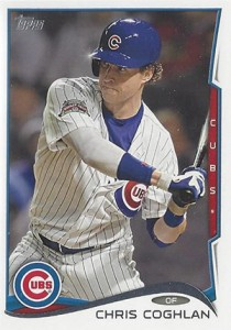2014 Topps Update Series Sparkle US-226 Chris Coghlan