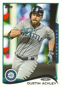 2014 Topps Update Series Sparkle US-328 Dustin Ackley