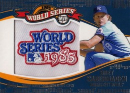 2014 Topps Update Series Baseball Retail World Series MVP Patch Card Gallery 14