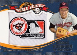 2014 Topps Update Series World Series MVP Patch Brooks Robinson