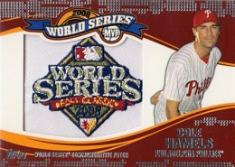 2014 Topps Update Series Baseball Retail World Series MVP Patch Card Gallery 2