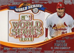 2014 Topps Update Series Baseball Retail World Series MVP Patch Card Gallery 3