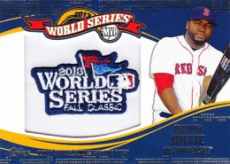 2014 Topps Update Series Baseball Retail World Series MVP Patch Card Gallery 4