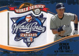 2014 Topps Update Series Baseball Retail World Series MVP Patch Card Gallery 16