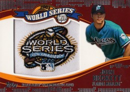 2014 Topps Update Series Baseball Retail World Series MVP Patch Card Gallery 5