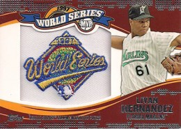 2014 Topps Update Series Baseball Retail World Series MVP Patch Card Gallery 6