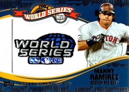 2014 Topps Update Series Baseball Retail World Series MVP Patch Card Gallery 7