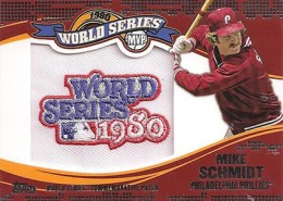 2014 Topps Update Series Baseball Retail World Series MVP Patch Card Gallery 20