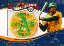 2014 Topps Update Series Baseball Retail World Series MVP Patch Card Gallery 23