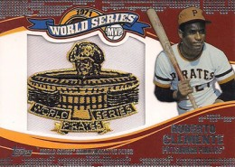 2014 Topps Update Series World Series MVP Patch Roberto Clemente