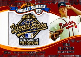 2014 Topps Update Series Baseball Retail World Series MVP Patch Card Gallery 12