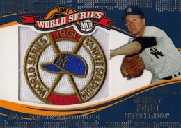 2014 Topps Update Series Baseball Retail World Series MVP Patch Card Gallery 25
