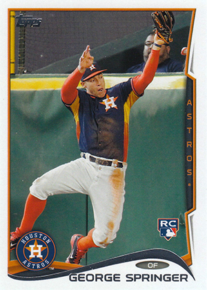 Top George Springer Rookie Cards and Key Prospects 15