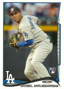 2014 Topps Update Variations US-196 Erisbel Arruebarrena