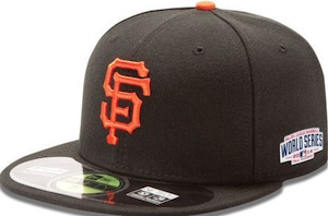 2014 World Series Hats San Francisco Giants