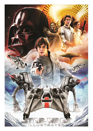 Star Wars Illustrated A New Hope One Year Earlier Chase Card OY-7