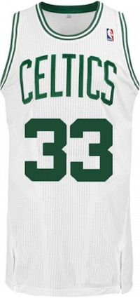 Boston Celtics Larry Bird Jersey
