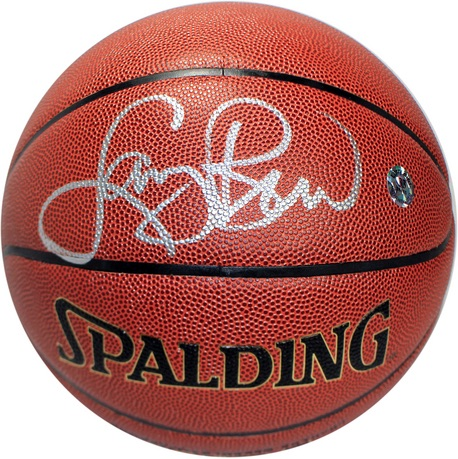 Boston Celtics Larry Bird Signed Basketball