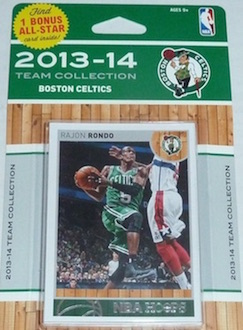Boston Celtics Team Card Set
