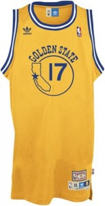 Golden State Warriors Throwback Vintage Jersey