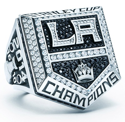 Los Angeles Kings Give Fans Replica Stanley Cup Ring in Stadium Giveaway 2
