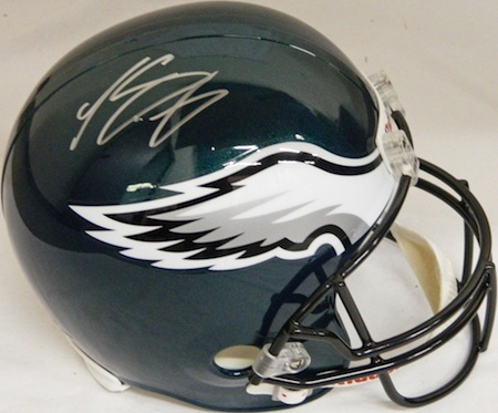 Philadelphia Eagles LeSean McCoy Signed Helmet