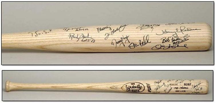 Pittsburgh Pirates Team Signed Bat