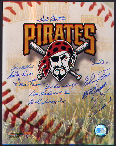 Pittsburgh Pirates Team Signed Photo
