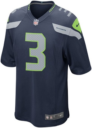 Seattle Seahawks Game Jersey