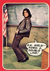 1976 Topps Welcome Back Kotter 25