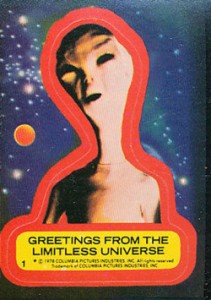 1978 Topps Close Encounters of the Third Kind Sticker