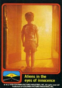 1978 Topps Close Encounters of the Third Kind Trading Cards 1