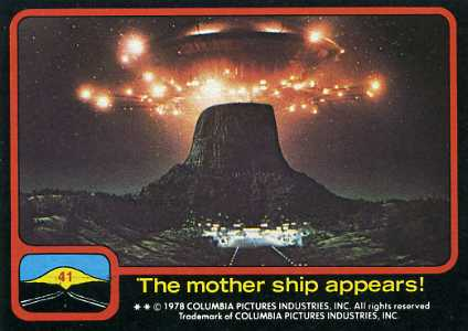 1978 Topps Close Encounters of the Third Kind Trading Cards 19